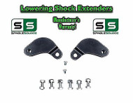 2002-2008 Ram 1500 2WD 4WD Rear Shock Extenders Extensions Brackets Lowering Kit