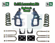 "2004 - 2008 Ford F-150 2WD 4"" / 6"" Drop Lowering Kit Spindles Shackles 04-08"