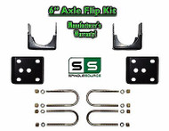"2004 - 2014 Ford F-150 6"" REAR Axle Lowering Drop Flip Kit 2WD 4WD Truck 04-14"