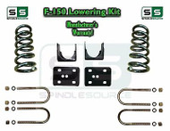 "2004 - 2014 Ford F-150 F150 3"" / 6"" Drop Lowering Kit Coils Axle Flip 3/6 Drop"