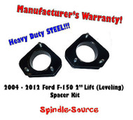"2004 - 2012 Ford F-150 Lincoln Mark LT 2"" in Leveling Lifting Strut Spacer Kit"