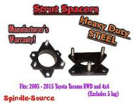 "2005 - 2015 Toyota Tacoma / 07+ FJ Cruiser 3"" Strut Lift Leveling Spacer STEEL"