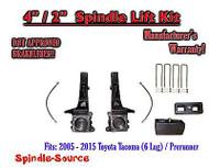 """2005 - 2016 Toyota Tacoma 6 Lug / Prerunner 4"""" / 2"""" Lift Kit + DOT Brakelines"""