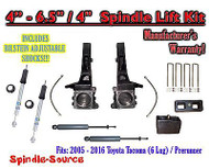 "2005 - 2016 Toyota Tacoma Prerunner 6.5"" / 4"" LIFT Kit, Bilstein 5100 Shocks, rs"