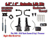 "2005 - 2016 Toyota Tacoma Prerunner 6.5"" / 4"" Lift Kit Spindles, SHOCKS + UCA"