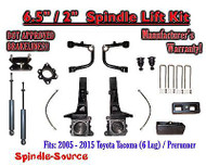 "2005 - 2016 Toyota Tacoma Prerunner 6.5"" / 2"" Lift Kit Spindles, SHOCKS + UCA"