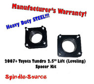 "2007 - 2013 Toyota Tundra 2WD 4x2 2.5"" in Leveling Lifting Strut Spacer Kit"