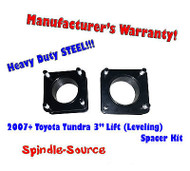 "2007 - 2013 Toyota Tundra 2WD 4x2 3"" in FRONT Leveling Lifting Strut Spacer Kit"