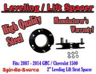 "2007 - 2014 Chevy GMC Trucks and SUVs 2"" Lifting Leveling Strut Spacer STEEL!"