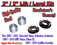 "2007 - 2015 Chevrolet Tahoe GMC Yukon 1500 SUV 2"" FULL LIFT KIT / LEVEL Chevy"