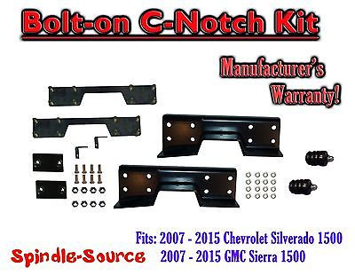 Rear C-Notch C Notch Lowering Drop Kit 1999-2007 Chevy Silverado Sierra 1500