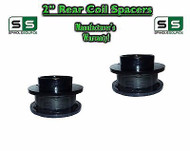 "2009 - 2017 Dodge Ram 1500 REAR 2"" inch 2in FABRICATED STEEL Coil Spacer Lift"