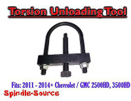 2011 - 2015+ Chevy / GMC 2500HD, 3500HD Torsion Unloading Tool