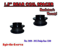 "2009 - 2017 Dodge Ram 1500 REAR 1.5"" inch FABRICATED STEEL Coil Spacer Leveling"