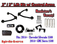 "2014+ Chevrolet Silverado GMC Sierra 1500 3"" inch / 3"" CONTROL ARM LIFT KIT"