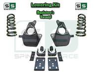 "16-18 Silverado Sierra 5"" / 7"" Lowering DROP KIT STAMPED / ALUM ARMS Coils V8"