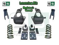 "16-18 Silverado Sierra 5"" / 8"" Lowering DROP KIT STAMPED / ALUM ARMS Coils V6"