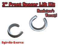 "67 - 86 Chevy C10 C20 C30 C15 C25 C35 2WD 2"" Lift Leveling Coil spring spacers"