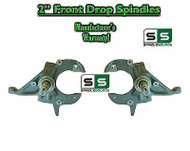 "82-05 Chevrolet S-10 S10 / GMC S-15 Sonoma Blazer Jimmy 2"" 2 inch Drop Spindles"