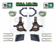 "99-07 Chevrolet Silverado GMC Sierra 1500 Spindle Lift Kit 6"" / 4"" Offset + UCA"