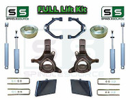 "99-07 Chevrolet Silverado Sierra 1500 Spindle Lift Kit 6"" / 4"" Off + SHOCKS, UCA"