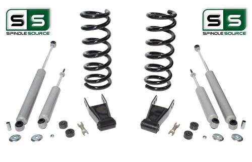 "01-10 Ford Ranger 2WD 2""/1""-2"" Lift Kit 6 Cyl Coil Springs /Rr Shackles/4 Shocks"