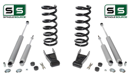 "01-10 Ford Ranger 2WD 3""/1""-2"" Lift Kit 4 Cyl Coil Springs /Rr Shackles/4 Shocks"