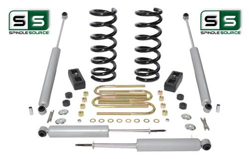 """2001-2010 Ford Ranger 2WD 3""""/2"""" Lift Kit 4 Cyl Coil Springs /Rr Blocks /4 Shocks"""