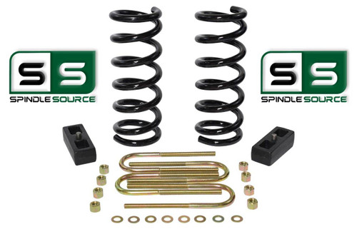 "2001 - 2010 Ford Ranger 2WD 3"" / 3"" Lift Kit 4 Cyl Coil Springs / Lift Blocks"