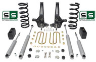 "01-10 Ford Ranger 2WD 6""/ 4"" Lift Kit 4 Cyl Spindles/Coils/Lift Blocks/4 Shocks"