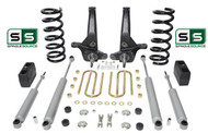 "01-10 Ford Ranger 2WD 6""/4"" Lift Kit 6 Cyl Spindles/Coil Springs/Blocks/4 Shock"