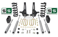 "01-10 Ford Ranger 2WD 7""/5"" Lift Kit 6 Cyl Spindles/Coil Springs/Blocks/4 Shock"