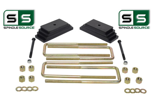 """2"""" LEAF PACK FRONT LIFT KIT FITS 1999-2004 FORD F250 / F350 4WD"""