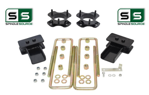 "2""/2"" Lift Strut Spacers Blocks U-Bolts Kit Fits 2009 - 2014 Ford F150 2wd"