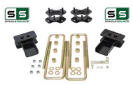 "2""/.5"" STRUT SPACER FABRICATED BLOCK LIFT KIT FITS 2009-2014 FORD F-150 4WD"