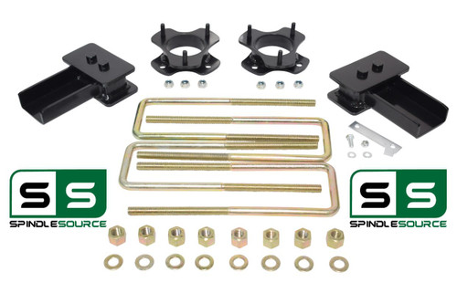 "2""/2"" STRUT SPACER AND REAR BLOCK KIT FITS 2004 - 2008 Ford F-150 2WD"