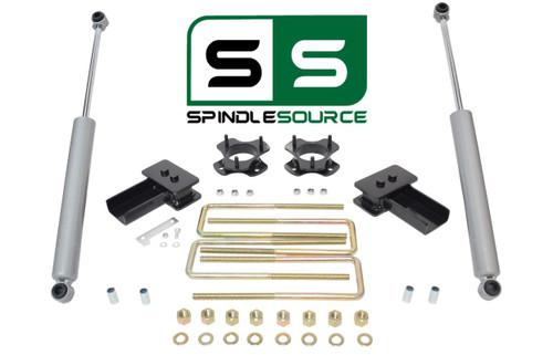 """2""""/2"""" STRUT SPACERS , BLOCKS , RR SHOCKS KIT FITS 2004 - 2008 Ford F-150 2WD"""