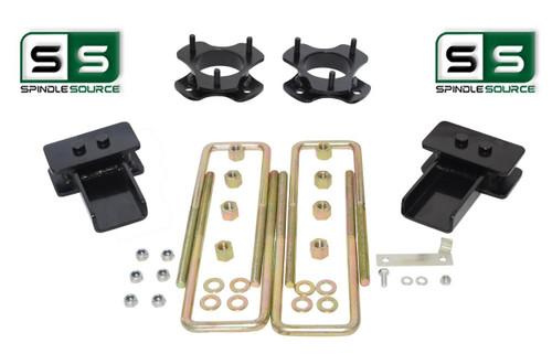 """2""""/2"""" Lift Strut Spacers Blocks Kit Fits 2015 - 2018 Ford F150 2wd"""