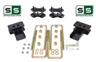 "2""/2"" Lift Strut Spacers Blocks Kit Fits 2015 - 2018 Ford F150 2wd"