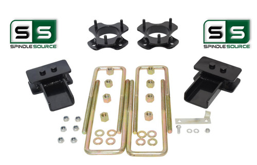 "2""/.5"" STRUT SPACER FABRICATED BLOCK LIFT KIT FITS 2015-2018 FORD F-150 4WD"