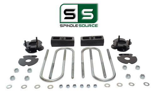 """2.5""""/2"""" FRONT SPACERS WITH REAR BLOCKS,FITS 2005-2011 DODGE DAKOTA 2WD W/3"""" AXLE"""