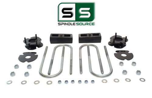 """2""""/2"""" FRONT SPACERS WITH BLOCKS , FITS 2005-2011 DODGE DAKOTA 2WD W/3.5"""" AXLE"""