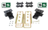 "2""/1.5"" STRUT SPACER FABRICATED BLOCK LIFT KIT FITS 2009-2014 FORD F-150 4WD"