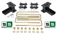 "2""/2"" STRUT SPACERS ,  REAR BLOCKS, KIT FITS 2004 - 2008 Ford F-150 4WD"