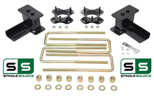 "2.5""/2"" STRUT SPACERS ,  REAR BLOCKS, KIT FITS 2004 - 2008 Ford F-150 4WD"