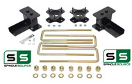 "3""/2"" STRUT SPACERS ,  REAR BLOCKS, KIT FITS 2004 - 2008 Ford F-150 4WD"