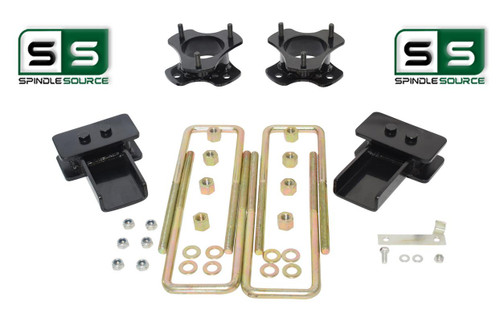"3""/2"" Lift Strut Spacers Blocks Kit Fits 2015 - 2018 Ford F150 2wd"