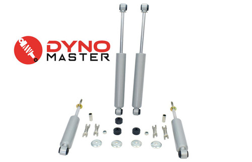 """Lift Shocks For 88-98 Chevy/GMC C1500 w/ Spindles Blocks or Shackles 4"""" / 1"""" 2WD"""