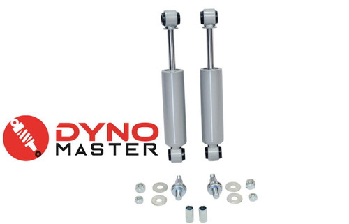 """Rear Drop Shocks For 3""""-4"""" Shackles w/ Hangers FITS 73-87 Chevy C10/GMC C15 2WD"""