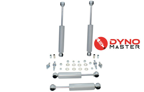 """Drop Shocks for 73-87 Chevy C10/GMC C15 w/Spindle,Shackles or Hanger 2""""/3-4"""" 2WD"""